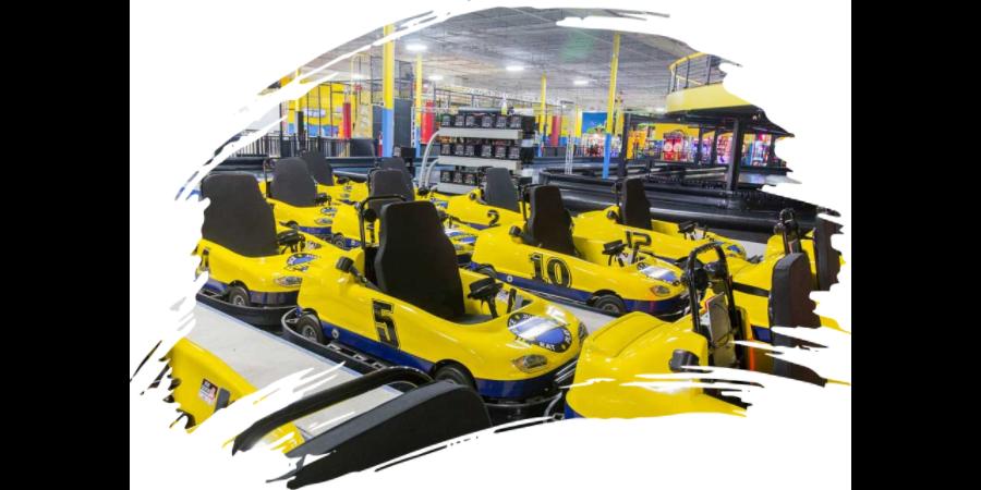 Indoor 2-Level Electric Go Karts